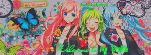 Facebook timeline cover edits (LUKA-GUMI-MIKU) by UchihaBlue11