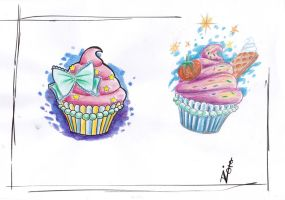 cupcakes by SimplyTattoo