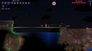 Meteor close call - Terraria by Tryzon