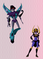 .Deceptichicas. by xPenguinxPuffx