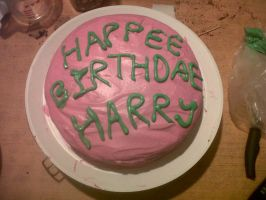 HAPPEE BIRTHDAE HARRY by Zani-Loki