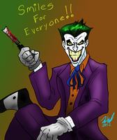 SMILES for EVERYONE ala Joker by Wessel