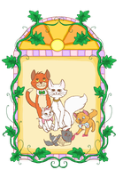 Aristocats by BabaKinkin