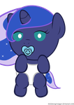 Baby Woona w/ Pacifier by MinimoogVoyager