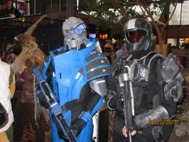 Garrus and ODST by MS81