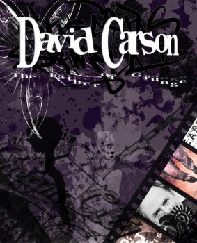 Cover to my David Carson Essay by Saraella