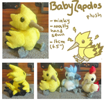 Baby Zapdos plush by SilkenCat