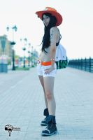 One Piece Portgas D Ace fem! by MiyavimaruStar