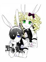 Ciel and Lizzy by TotalFangirl985782
