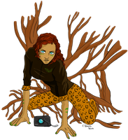 Hannibal plants - Freddie Lounds by FuriarossaAndMimma