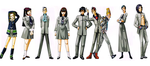 Revelations Persona Characters by PikachuStar93
