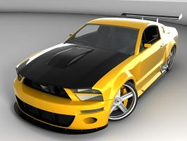 Ford Mustang GTR by gbpackers