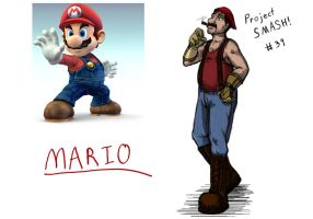 Project SMASH - Mario by Krowjak