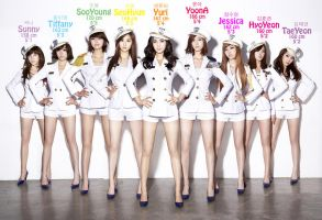 SNSD Heights by billistmeinherz