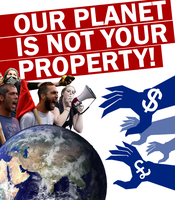Earth Is Not For Sale by Party9999999
