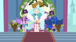 Twilight's Coronation: The Three Princesses by JordiLa-Forge