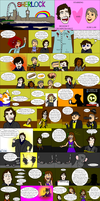 Sherlock: The Animated Series: The Comic by PsychoPop