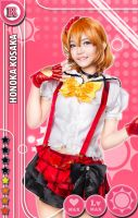 Honoka Card by LeNekoPotato