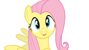 Fluttershy Vector 01 by Thorinair