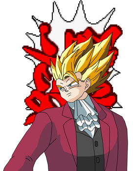 Objection - Gogeta by eggmanrules