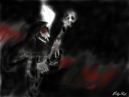 Demon of The Black Parade by Catsandpickless
