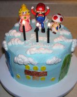 Mario Cake by DancesWithWacom