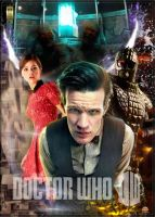 Doctor Who series 7 poster 2 by gazzatrek