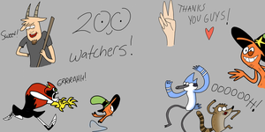 200 Watchers! Thank you guys a bunch! by Dalton709