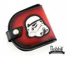 Imperial coin wallet by Hobbit-Leatherworks