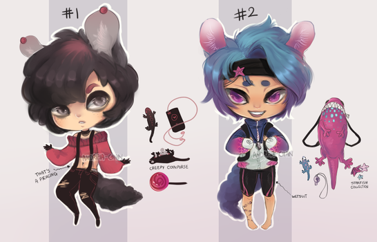 [CLOSED ADOPTABLES] Inventory Fayds by Andreia-Chan