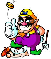 All that Glitters . . . belongs to Wario by JamesmanTheRegenold