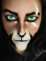 Scar Makeup by Chuchy5