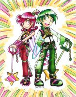 Cosmo and Wanda : Wandblades by yamiyuuga