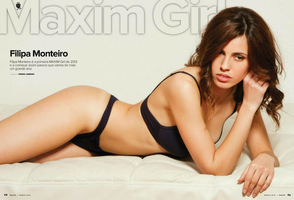 Maxim Girl March 2013 by filipamonteiro