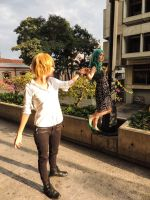 Haruka x Michiru - Cosplay Session 02 by Bahamut-Eternal