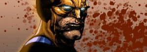 Wolverine-Leinil Yu Colored by SplashColors