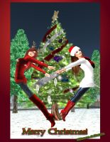 Merry Christmas! love Etherea and Donna by EthereaS