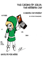 The N00bish Cap Rewrite Cover by Astralstonekeeper
