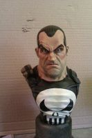 Punisher bust painted by logan250
