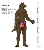 Jacque - Horse by ShapeShifterJacque