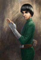 Rock Lee by Sikarbi