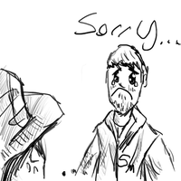 Ben - Sorry :( (Tablet Test Sketch) by Crazyb2000