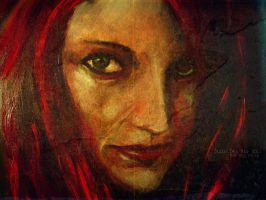 The Red Muse 2011 by juliodelrio