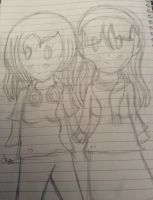 Lia as her 13 and 22 Yr old self by katystar243