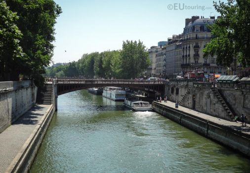 Pont au Double over the Seine by EUtouring