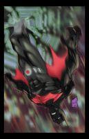Batman Beyond Colored by hanzozuken