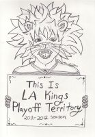 LA Kings 2012 playoffs by CLPennelly