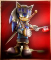 Knight Sonic The Hedeghog by maizie0201