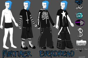 Mortimer Everdread Reference by ZeroWiseman