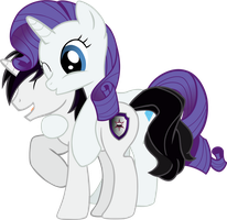 Vector Rarity back hug Barrfind by Barrfind